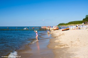 Dziwnów_plaża